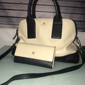 Kate Spade Handbag & Matching Wallet